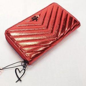 Victoria's Secret RED Wallet ~ NWT ~ BT18